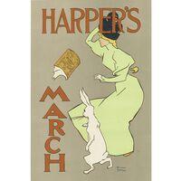 Cuadro Lienzo -  Harper's March 1895 - Edward Penfiel