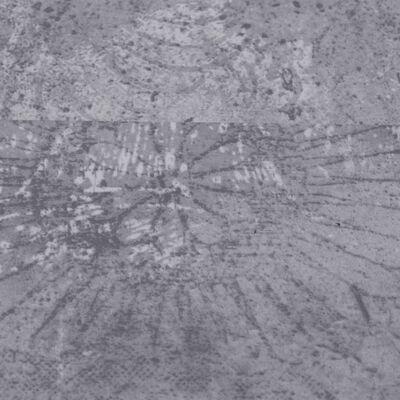 vidaXL Lamas para suelo de PVC gris cemento 5,26 m² 2 mm