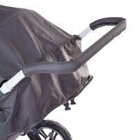 CHILDHOME Protección para el manillar de carrito de bebé espuma negro