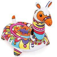 Bestway Flotador de piscina en forma de llama multicolor 203x114x137cm