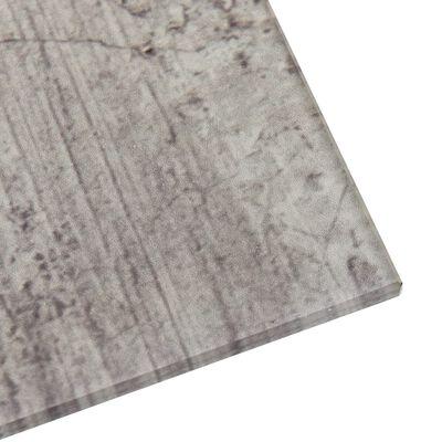 vidaXL Pizarra magnética de pared vidrio 60x60 cm