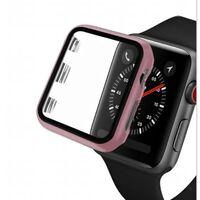 Funda protectora para Apple Watch 3/4/5, 38 mm - rosa