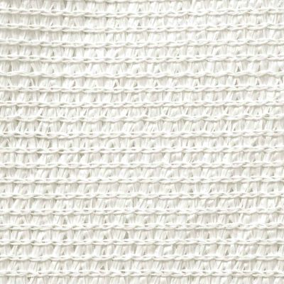 vidaXL Toldo de vela blanco HDPE 160 g/m² 6x6 m