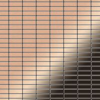 ALLOY Cabin-CM Mosaico de metal sólido Cobre cobre