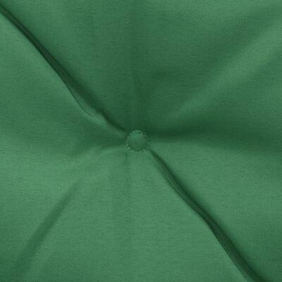 vidaXL Cojines para balancín 2 unidades verde 50 cm