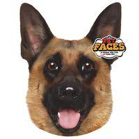 Pet Faces Cojín con cara de mascota pastor alemán