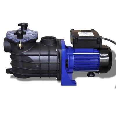 vidaXL Bomba de piscina eléctrica 500 W azul