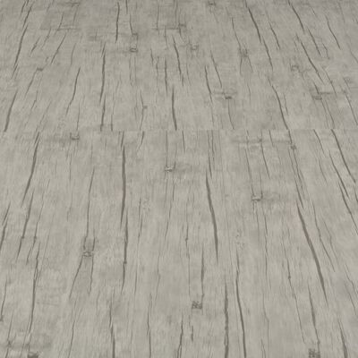 vidaXL Lamas para suelo PVC autoadhesivas 4,46m² 3 mm roble lavado