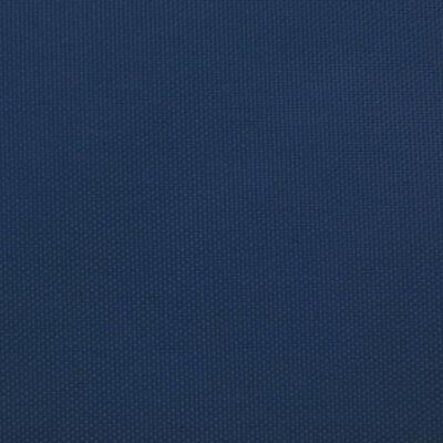 vidaXL Toldo de vela rectangular de tela oxford azul 5x8 m