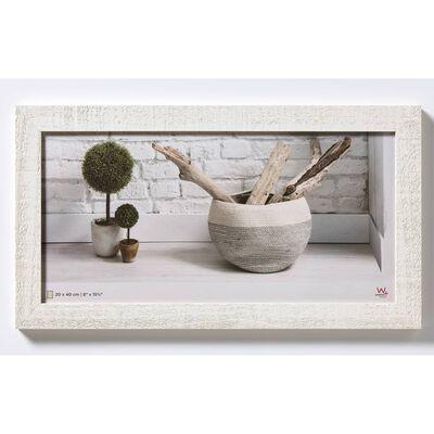 Walther Design Marco de fotos Home blanco polar 20x40 cm