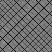 ALLOY Diamond-S-S-B Mosaico de metal sólido Acero inoxidable gris