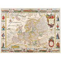 Impresión sobre lienzo - Mapa Antiguo No. 55