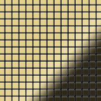 ALLOY Mosaic-BM Mosaico de metal sólido Latón oro