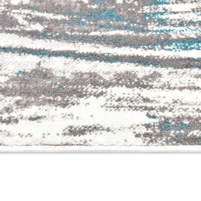 vidaXL Alfombra de PP azul 160x230 cm