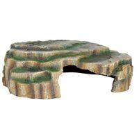 TRIXIE Cueva para reptiles 30x10x25 cm resina de poliéster 76212