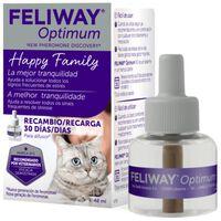 Feliway Optimum Antiestrés Para Gatos Recambio 48ml | 69 Gr | Miscota