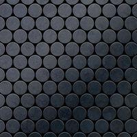 ALLOY Dollar-RS Mosaico de metal sólido Acero bruto gris