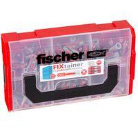 Fischer Juego de tacos de pared FIXtainer DUOPOWER 210 piezas
