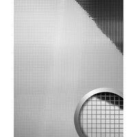 Wallface 10657-sa Panel De Pared Mosaico Plata