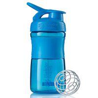 BlenderBottle Vaso mezclador SportMixer cian 590 ml