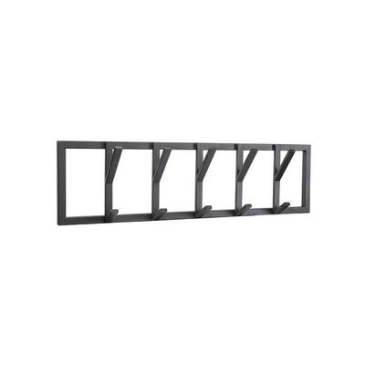 LABEL51 Perchero Frame L negro 80x9x22 cm