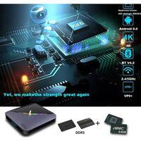 Caja de Smart TV 8K de 4GB + 64GB con Android 9.0 A95X F3