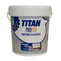 Pintura Plastica Interior Mate - TITAN PROFER - PH741 - 20 KG