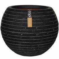 Capi Jarrón forma de bola Nature Row 40x32 cm gris antracita KRWZ270