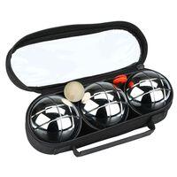 Get & Go Set de petanca  3 bolas plateadas COC 52JP-COC-Uni