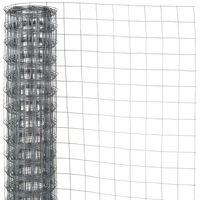 Nature Malla de alambre hexagonal acero galvanizado 0,5x2,5 m 13 mm