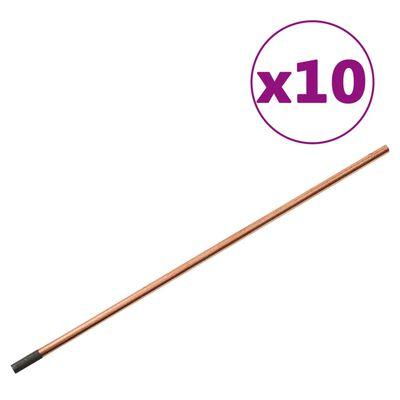 vidaXL Kit de herramientas de reparación de chapa metálica 119 piezas