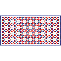 Flooralia- Alfombra de vinilo - Geométrica - G-001