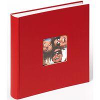 Walther Design Álbum de fotos Fun rojo 100 páginas 30x30 cm