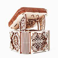 WOODEN CITY Kit de maqueta de caja misteriosa de madera