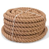 vidaXL Cuerda 100% yute 40 mm 30 m