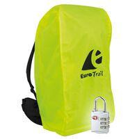 Travelsafe Funda de mochila combinada con candado TSA M amarilla