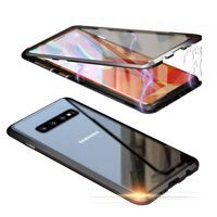 Funda magnética para Samsung Galaxy S10 Plus - negra