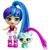 Silverlit Figura de juguete Rosli and Koda Curli Girls multicolor