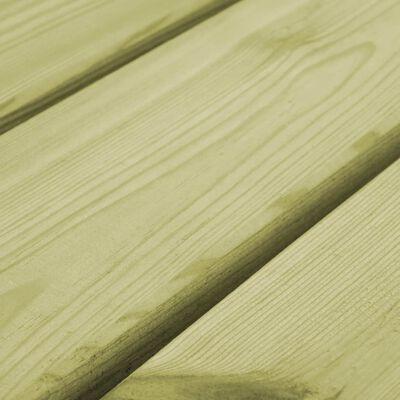 vidaXL Banco de jardín 170 cm madera de pino impregnada