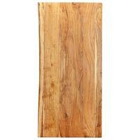 vidaXL Encimera para armario tocador madera maciza acacia 120x55x2,5cm