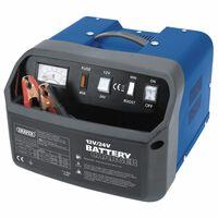 Draper Tools Cargador de batería 30,5x29x21,5 cm 12/24 V 30 A