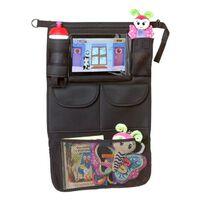 A3 Baby & Kids Organizador de coche con soporte para tableta negro