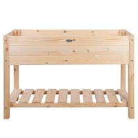 Esschert Design Raised Bed Blank Light Wood  L