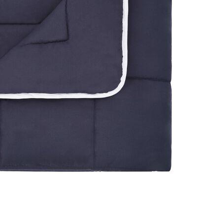 vidaXL Set de funda de edredón 3 piezas tela antracita 240x220/80x80cm