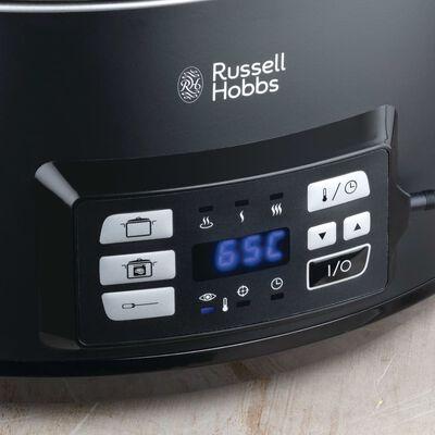 Russell Hobbs Olla de cocción lenta Sous Vide negro mate 6,5 L