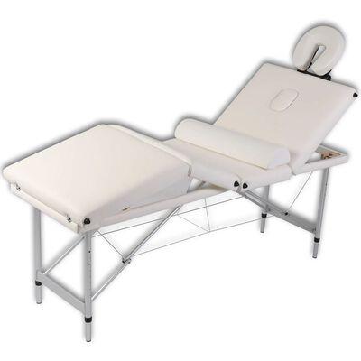 Semi-rulo almohada semicircular para masajes