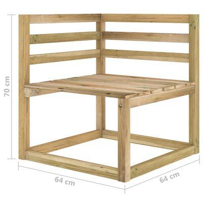 vidaXL Juego de muebles jardín de 3 piezas con cojines beige