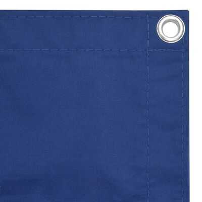 vidaXL Toldo para balcón tela oxford azul 120x500 cm
