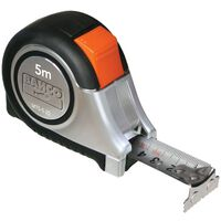 BAHCO Flexómetro de bolsillo, 5 m MTS-5-25