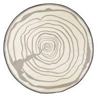 Esschert Design Alfombra de exterior aros crecientes diámetro 170 cm